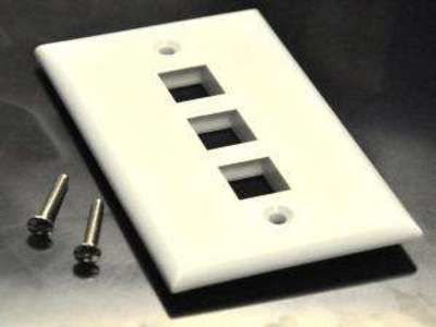 Plastic Wall Face Plate