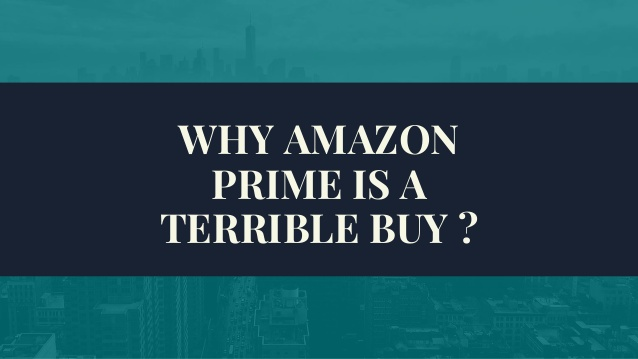 Why amazon prime is a terrible buy  panda cashback