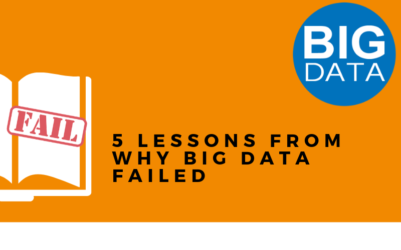 5 successful lessons from which purpose through the big data fails?