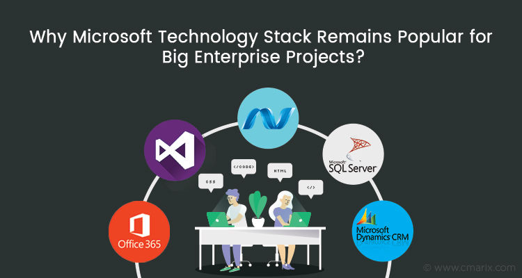 Why Microsoft Technology Stack Remains Popular for Big Enterprise Projects?
