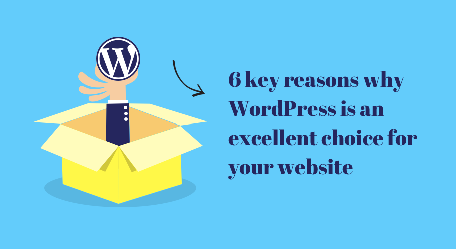 What makes WordPress an excellent choice for your website – iWEBSERVICES
