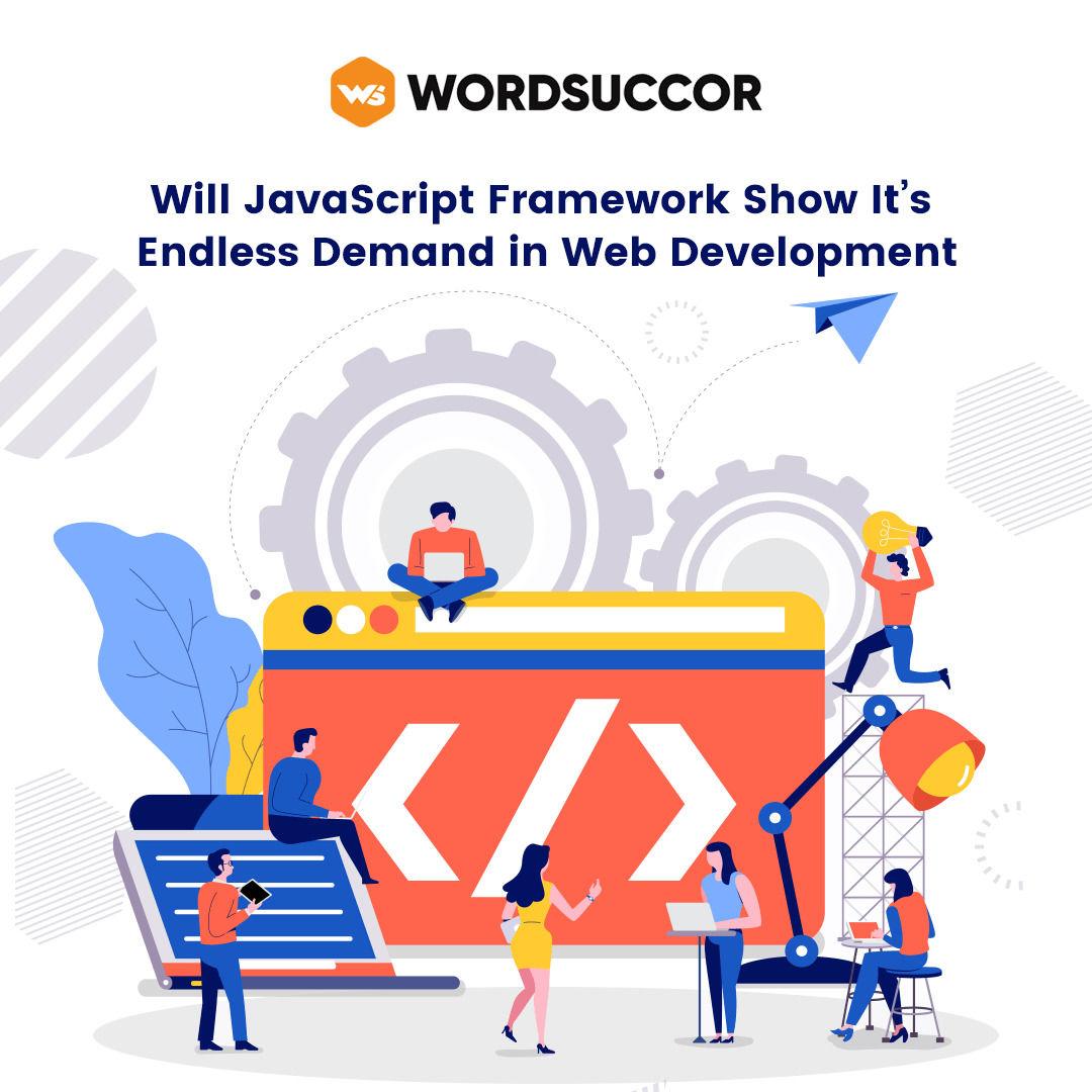 Javascript framework - web development trend
