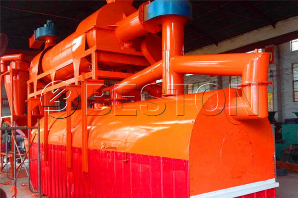 Wood Charcoal Making Machine for Sale- Wood Carbonization Plant