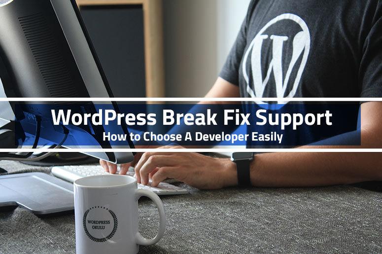 WordPress Break Fix Support and Maintenance | Visit Aleph IT - Blog