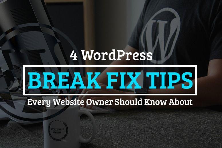 WordPress Break Fix Tips: Why Fixing Broken Links is Important? - Blog