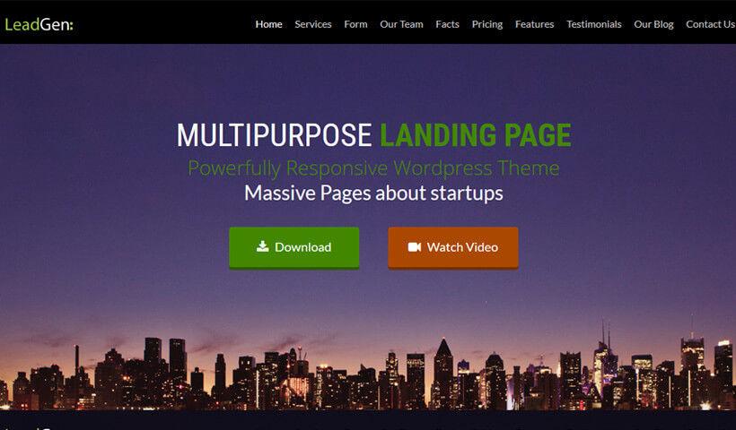LeadGen Wordpress Theme