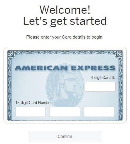 AmericanExpress.Com/ConfirmCard - American Express Confirm Card