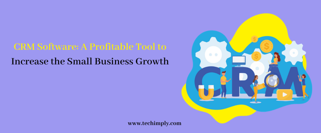 CRM Software: A Profitable Tool to Increase The Small Business Growth