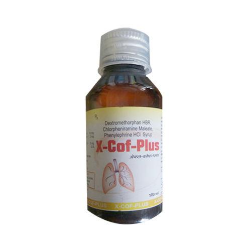 X-Cof-Plus-Syrup, Dextromethorphan Hbr, Chlorpheniramine Maleate, Phenylephrine Hci Syrup - Schwitz Biotech