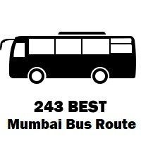 243 Bus Route Mumbai Stops & Timing - Malad Station (W) to...