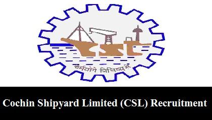 Cochin Shipyard Limited (CSL) Recruitment for 120 Apprentices Posts in P&A Department