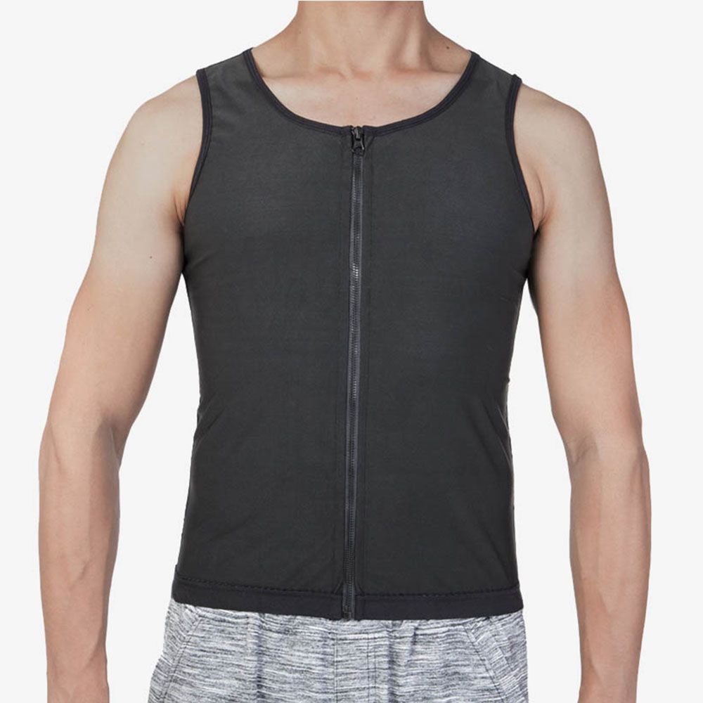 Polymer Waist Trainer Slimming Workout Men Vest | Sayfutclothing