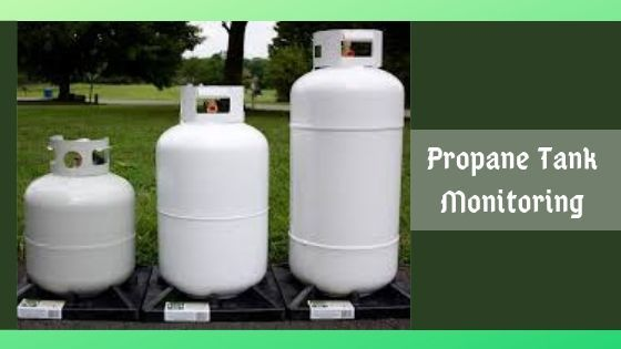 How does a Satellite help in Propane Tank Monitoring?