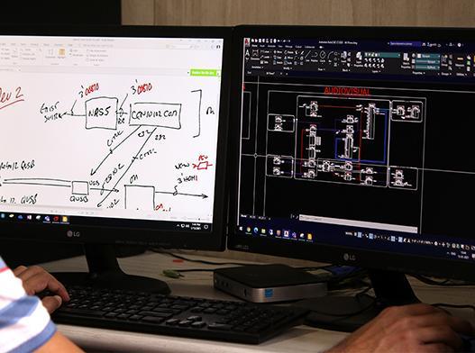 AV CAD | outsourcing AV CAD | Analytix Audio Visual Solutions