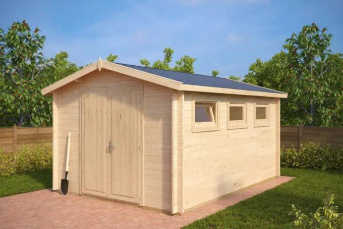 gartenhaus — Bauen Sie ganz einfach ein Gartenhaus mit einem...