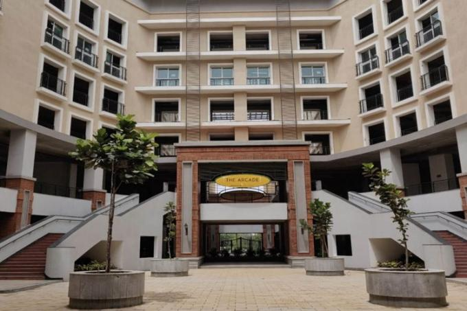 Office Space in North Bangalore   The Arcade @ Brigade Orchards