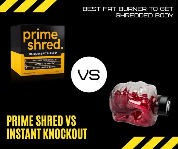 Prime Shred vs Instant Knockout - Which Supplement Helps Build Muscle?