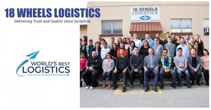 18 Wheels Logistics: Delivering Trust and Quality since Inception