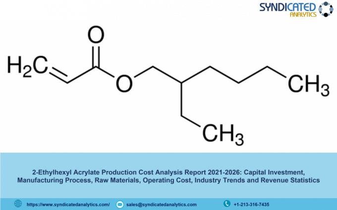 2-Ethylhexyl Acrylate Production Cost Analysis Report 2021, Price Trends, Raw Materials Costs, Profit Margins, Land and Construction Costs 2026   Syndicated Analytics - The Market Gossip