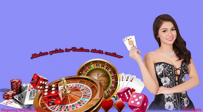 Novice guide to online slots casino - krsubhay's blog