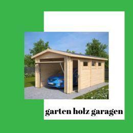 Die besten Garagen aus Gartenholz sind umweltfreundlich und sicher für Ihr Zuhause | Moderne Gartenhäuser