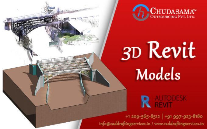 3D BIM Modeling | Revit BIM Models | Structural BIM Services - Chudasama Outsourcing