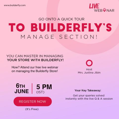 Builderfly – A Complete Ecommerce Solution is conducting its Third ...