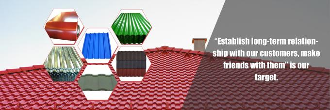 Alu-zinc Corrugated Sheet, ColoredSteelRoofingTile, ColoredSteelWallPanel  Exporter