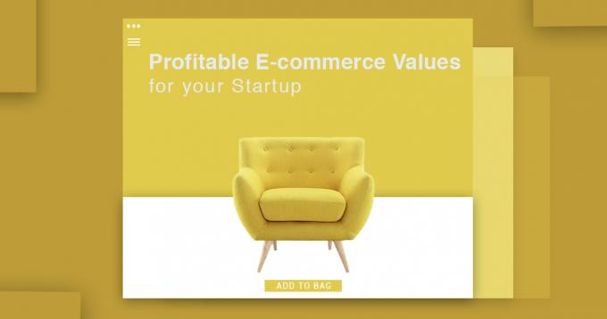 6 Profitable E-commerce Values for your Startup