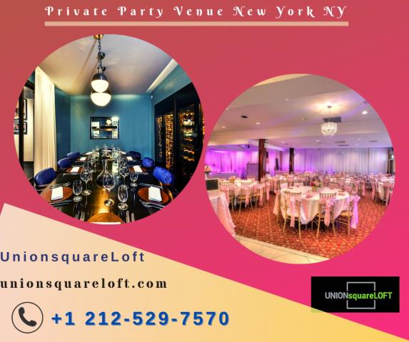 Private Party Venue New York NY