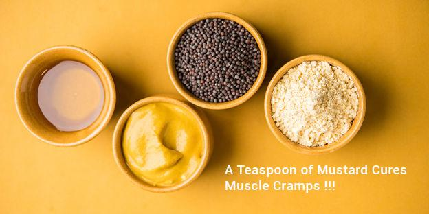 Teaspoon of Mustard Cures Muscle Cramps | Mustard Manufacturer