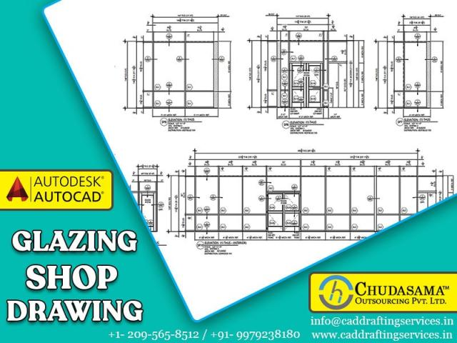 Architectural Glazing Shop Drawings services
