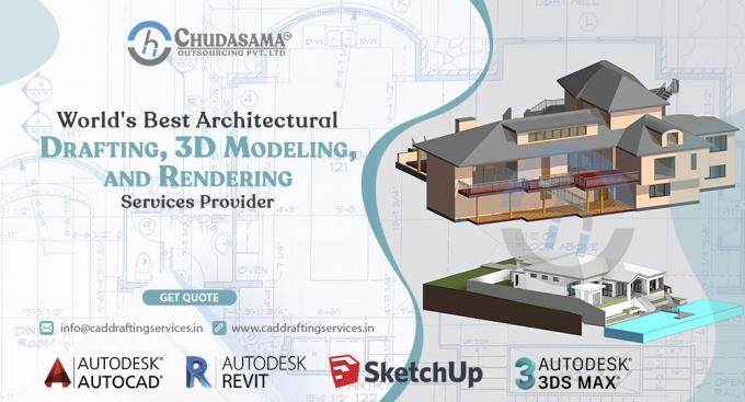 Architectural CAD Drafting, 3D Modeling, and Rendering Services