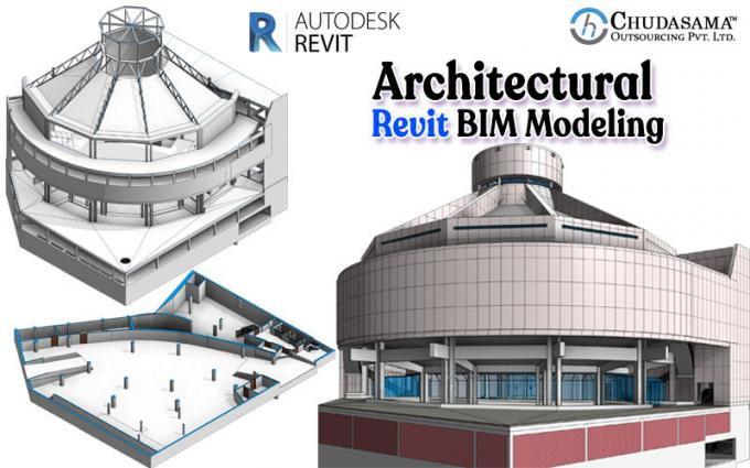 3D BIM Modeling Services   Revit BIM Models USA   BIM Architectural Design