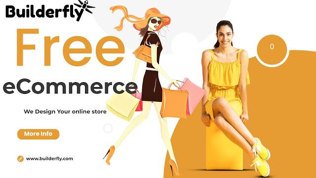 Are the website builders provided at top ecommerce platforms absolutely free?