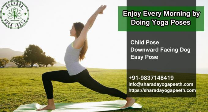 Enjoy Every Morning by Doing Yoga Poses