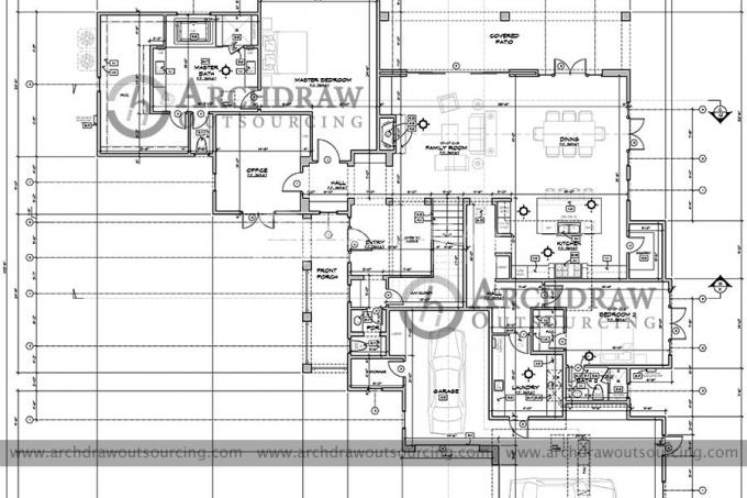 CAD Outsourcing Services - AutoCAD Drawing, Drafting and Conversion