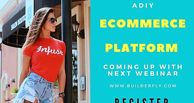 App Ex- Builderfly - A DIY Ecommerce Platform Coming Up With amazing features