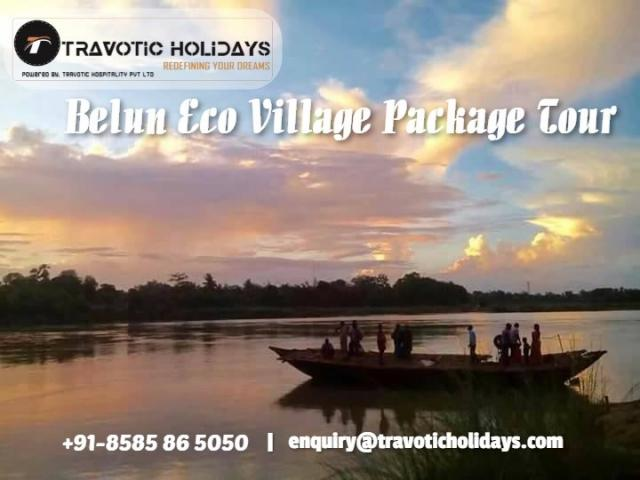 """""""BELUN ECO VILLAGE RESORT"""" THE ABSTRACT BEAUTY OF BENGAL"""