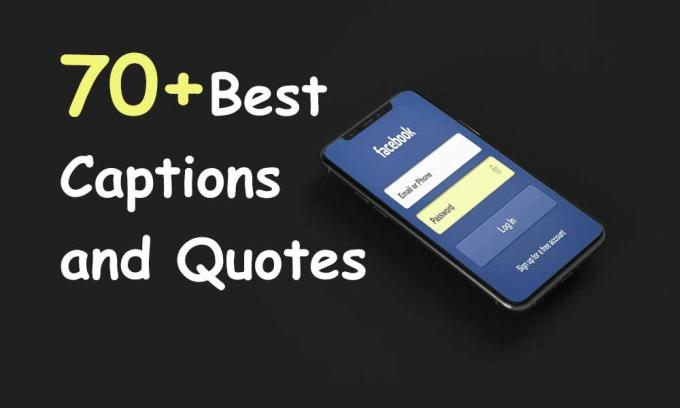 70+ Best Captions and Quotes for Facebook DP or Status