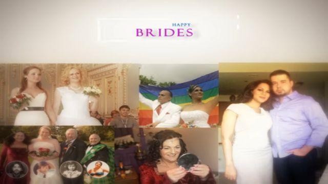 Beautiful Transgender Brides