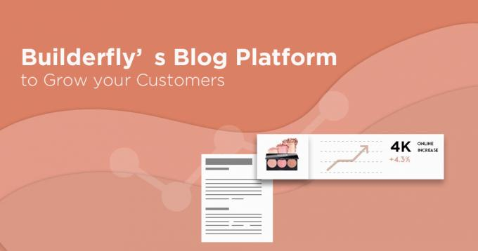 How to Use Builderfly's Blog Platform to Grow your Customers