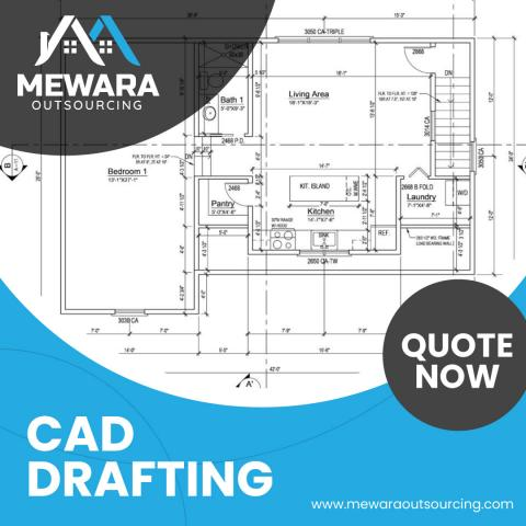CAD Drafting Services - Mewara Outsourcing