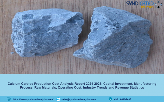 Calcium Carbide: Production Cost Analysis, Price Trends and Forecast, Profit Margins, Raw Materials Costs, Land and Construction Costs 2021-2026 | Syndicated Analytics – The Market Writeuo