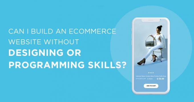 Can I Build an Ecommerce Website Without Designing or Programming Skills?