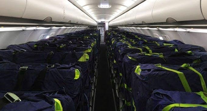 Colibri Aero and J&C Aero make 'Cargo Seat Bags' for passenger seats  Aircraft Interiors