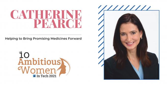 Catherine Pearce: Helping to Bring Promising Medicines Forward