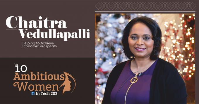 Chaitra Vedullapalli: Helping to Achieve Economic Prosperity