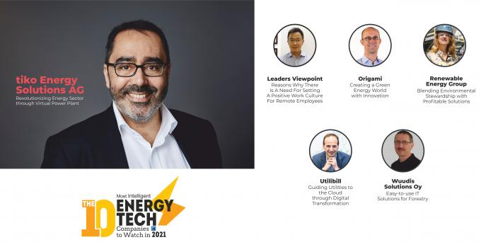 The 10 Most Intelligent Energy Tech Companies to Watch in 2021
