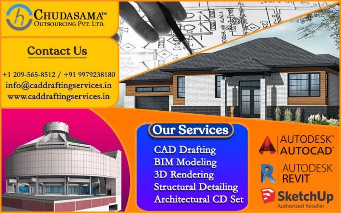 Revit Architectural BIM Models | PDF to CAD Conversion Services